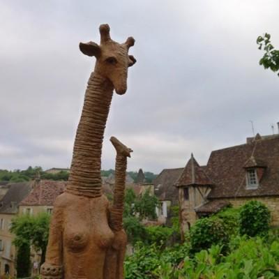 Girafe et sa fille