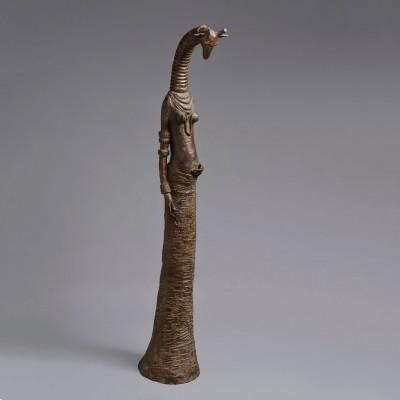 Grande girafe enceinte
