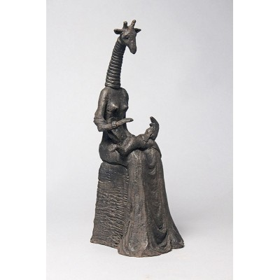 Hommage à Max Ernst - Bronze