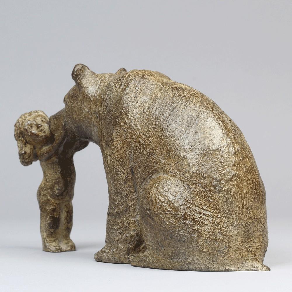 Mon ours, Bronze pour le Musée d'Histoire naturelle de Lille