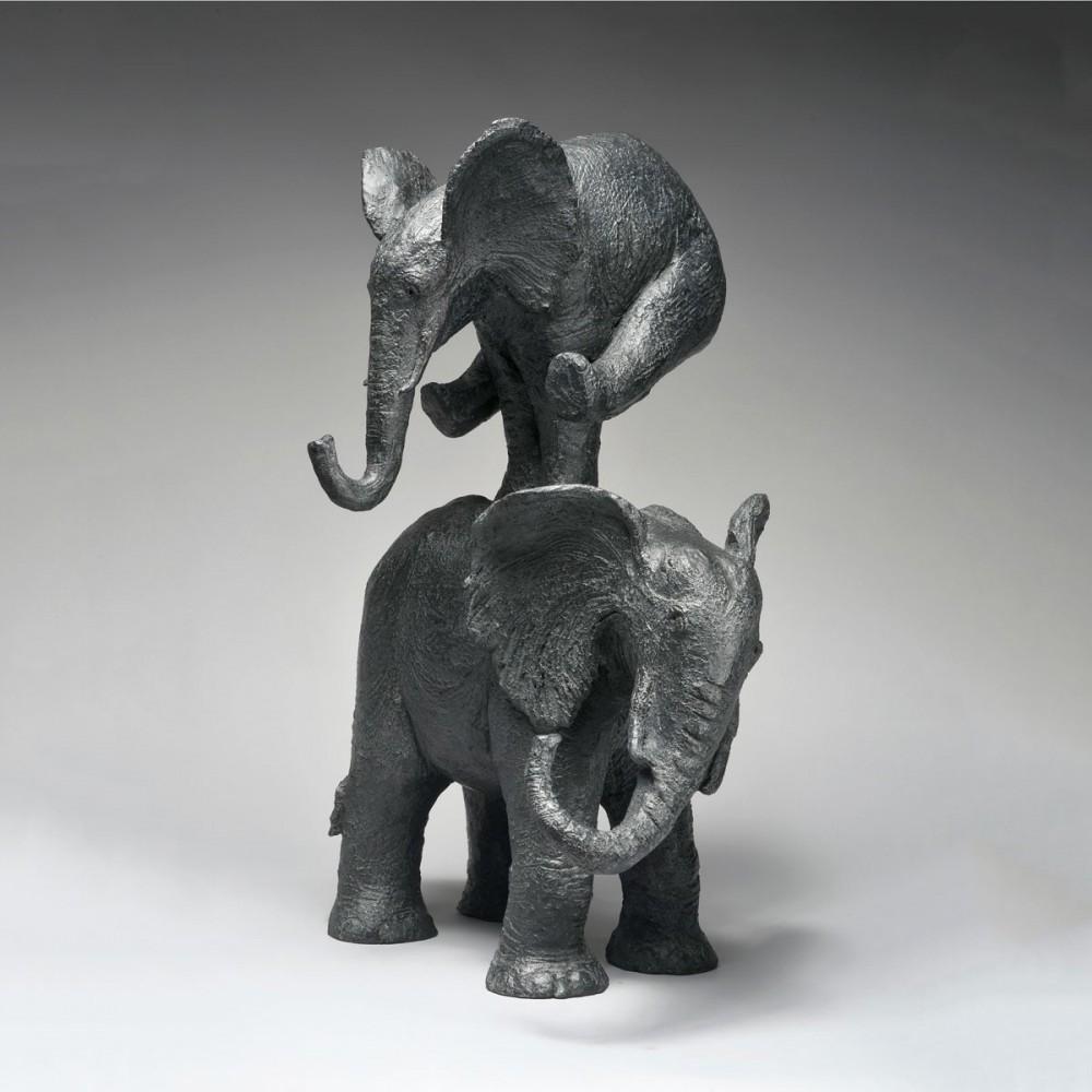 Éléphant saute !