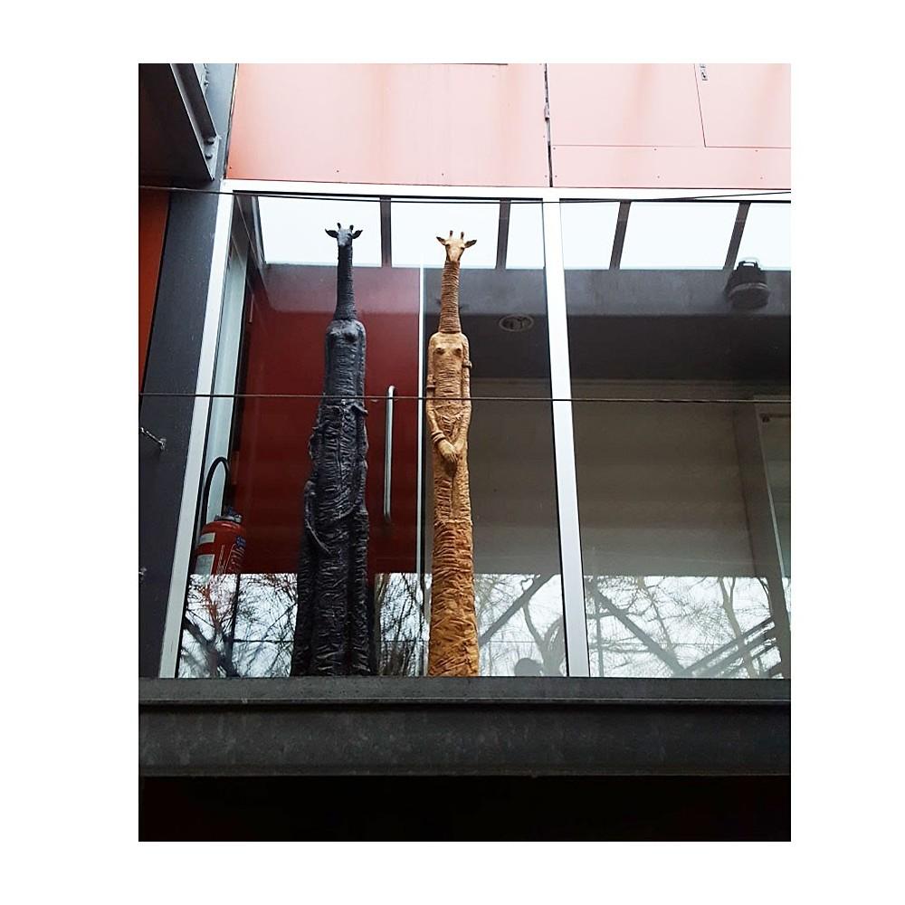 Deux girafes au Musée de la Briquetterie