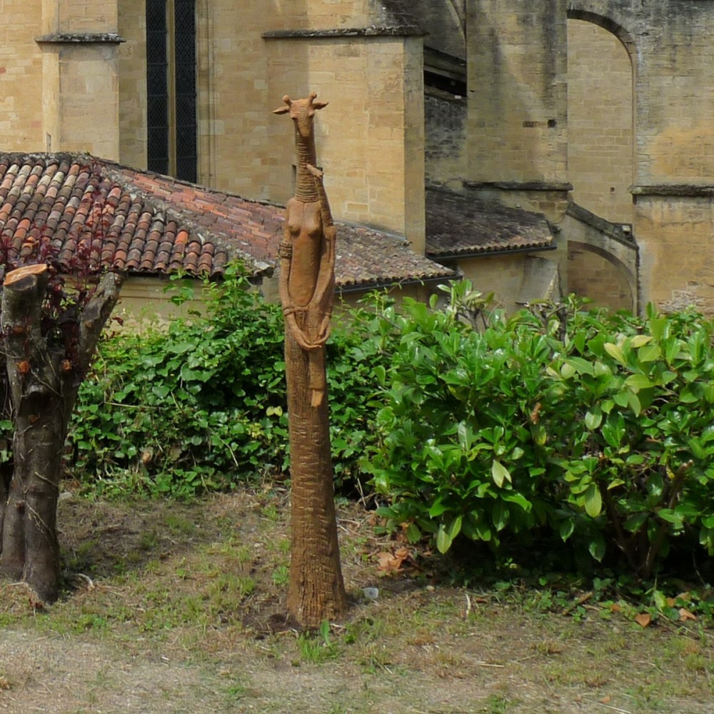 Girafe et sa fille version 1